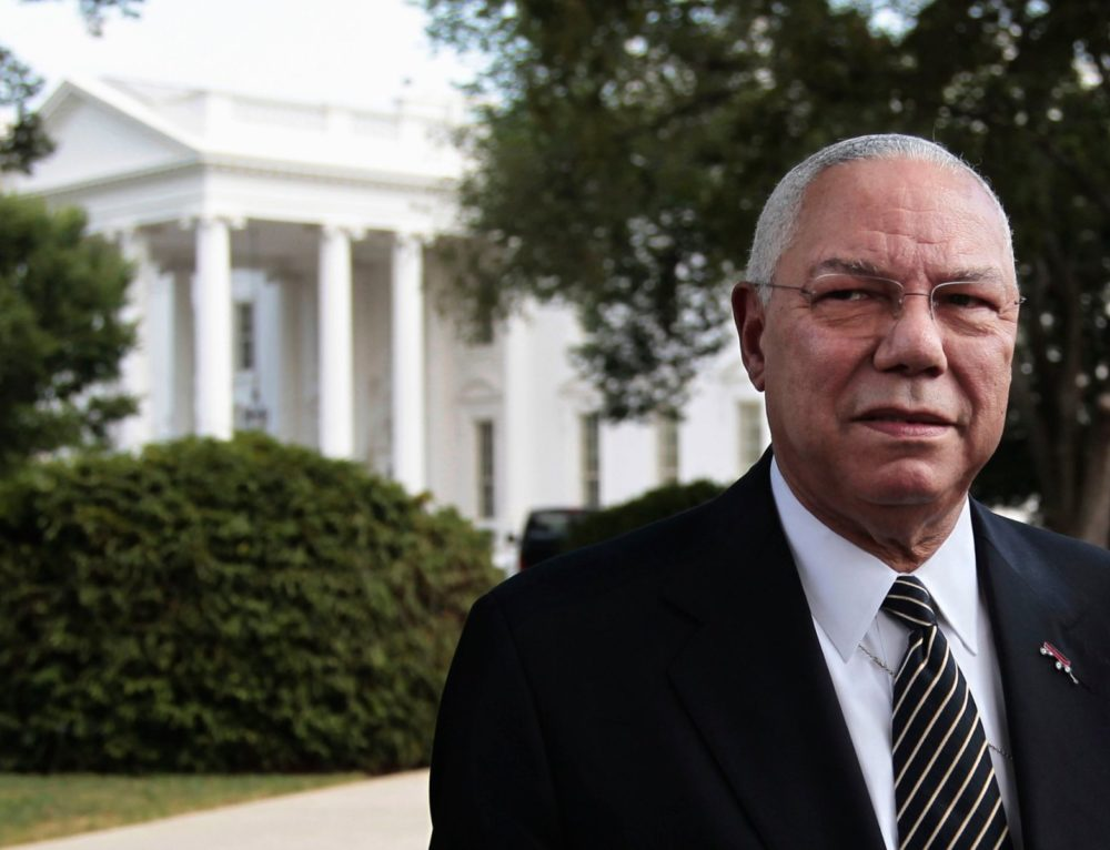 Honoring  Secretary Colin Powell this African American History Month