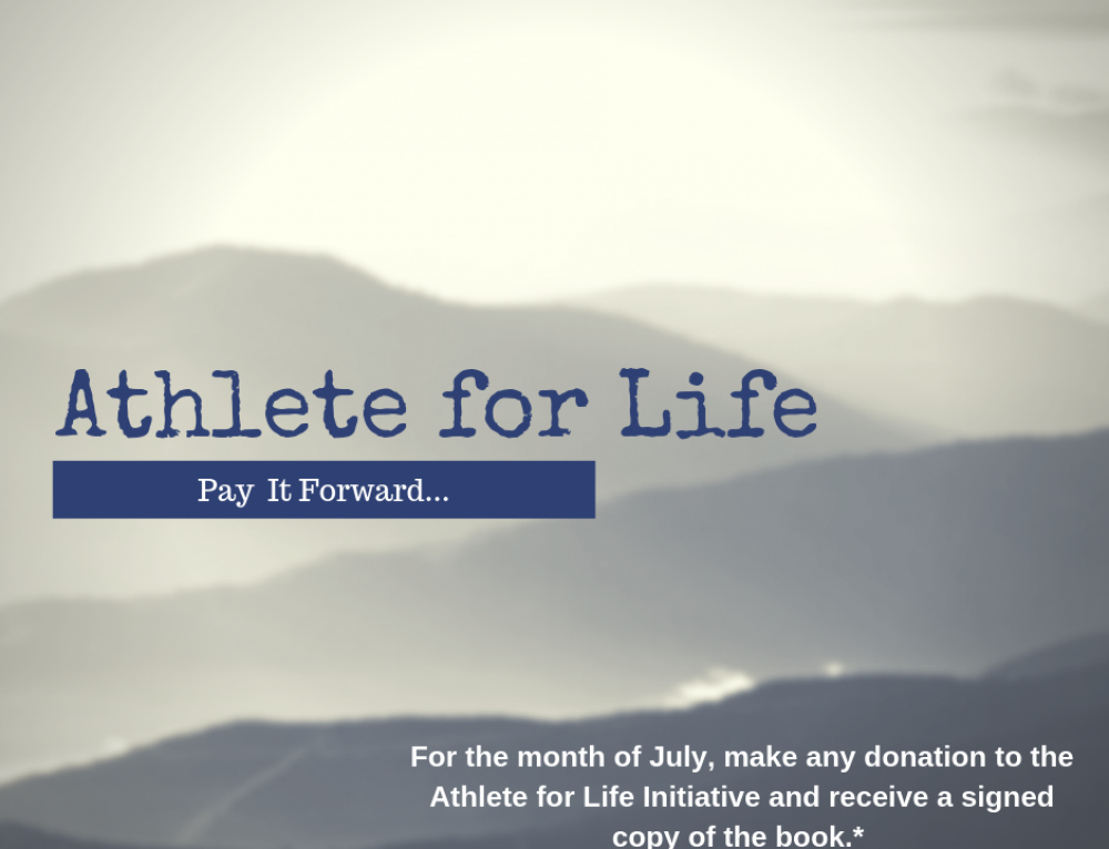 Receive a Copy of Athlete for Life with Your Donation